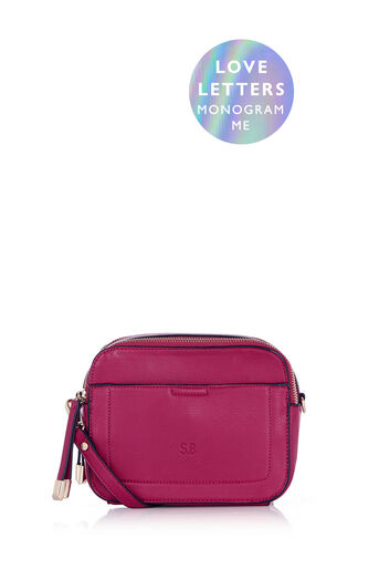 Oasis, MONOGRAM CAMERA BAG Mid Pink 0