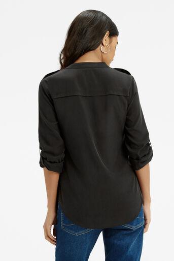 Oasis, Tencel Shirt Black 3