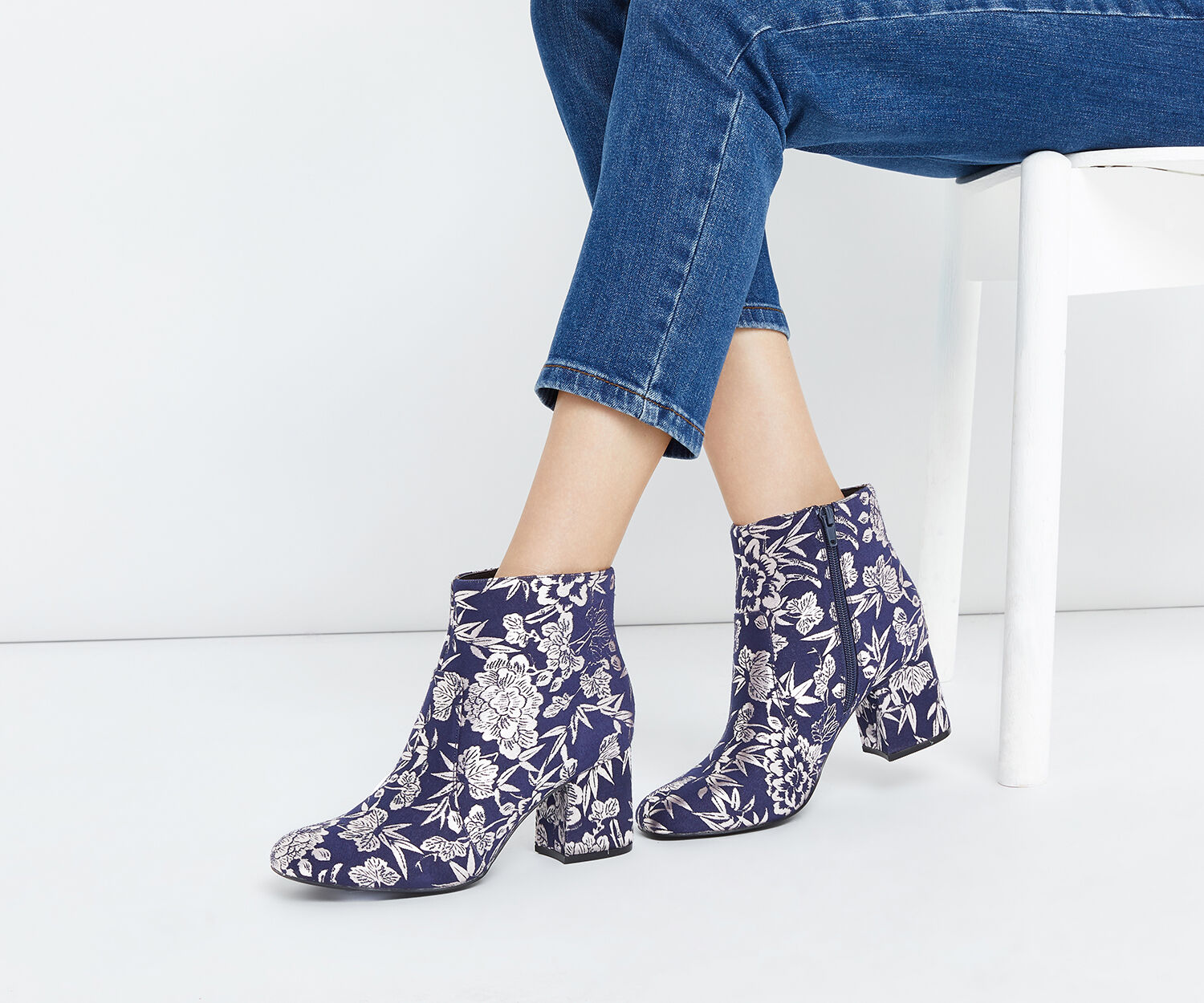 Oasis, JACQUARD KITTY Navy 1