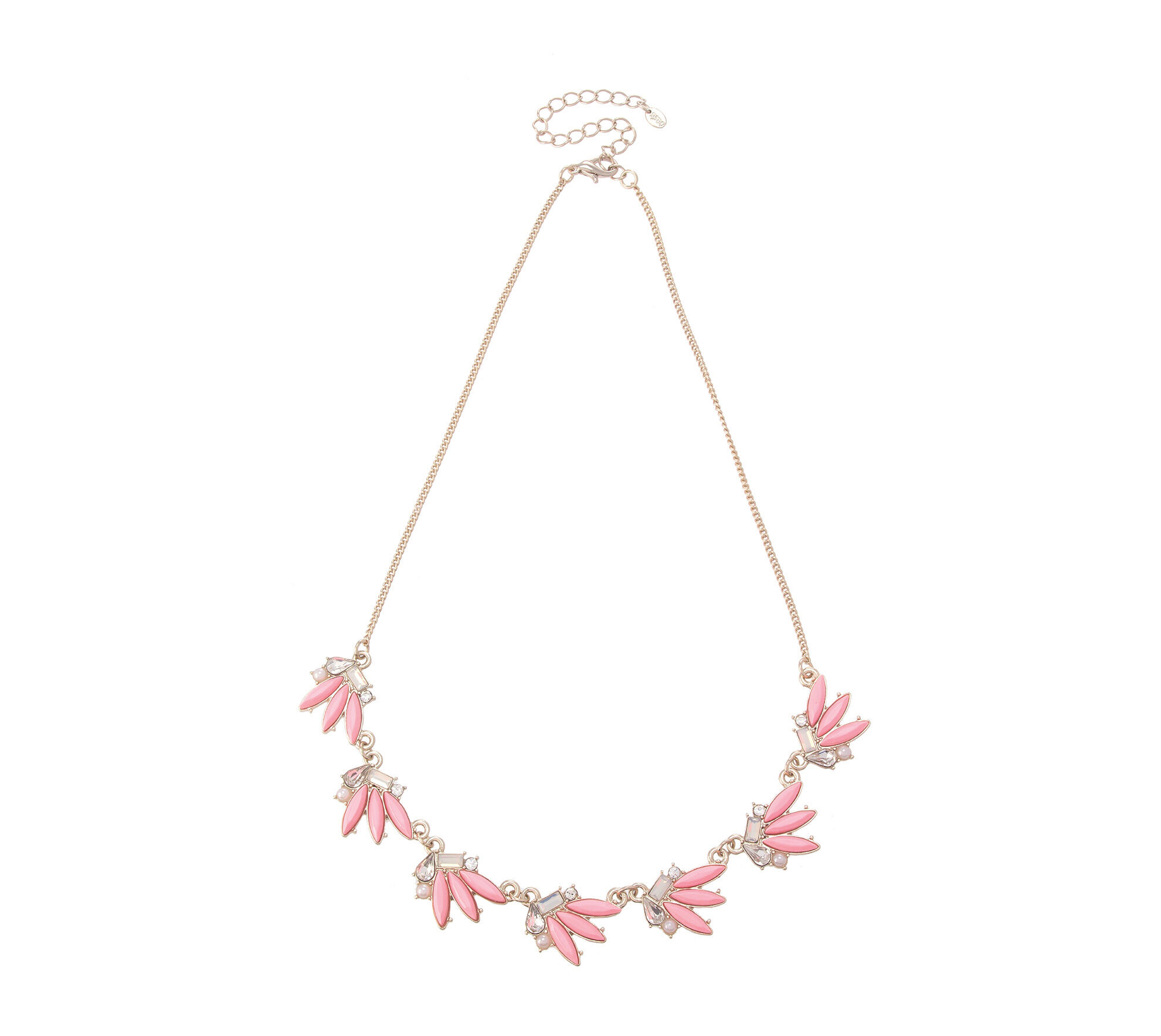 Oasis, NEON STONE NECKLACE Neon Pink 0