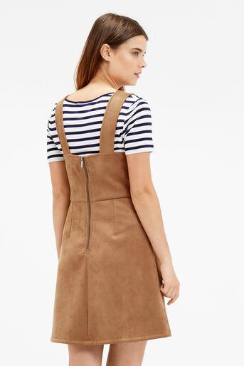 Oasis, SUEDETTE DRESS Tan 3