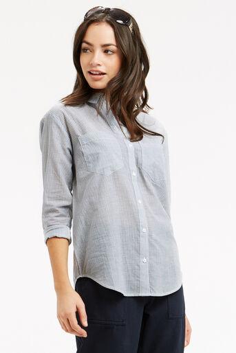 Oasis, Ticking Stripe Shirt Multi 1