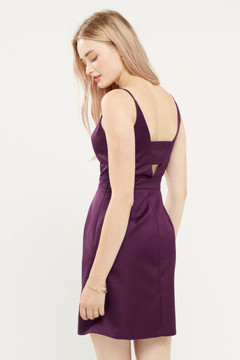 Oasis, SATIN TULIP CAMI DRESS Berry 3