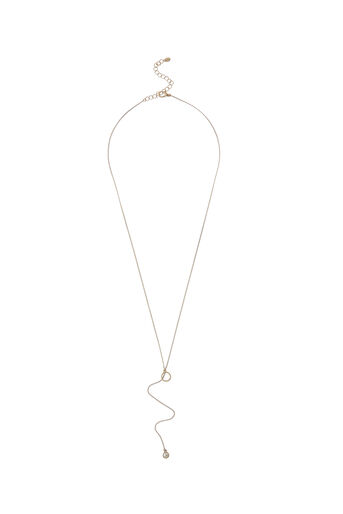 Oasis, PEARL PULL-THROUGH EARRINGS Gold 0