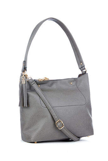 Oasis, RUBY HOBO Mid Grey 0