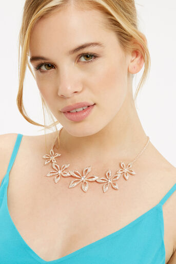 Oasis, FLOWER NECKLACE Gold 1