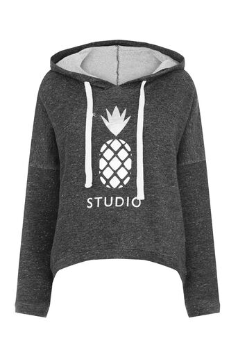 Oasis, PINEAPPLE SUPER-SOFT HOODY Mid Grey 0