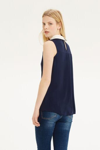 Oasis, Collar T-Shirt Navy 3