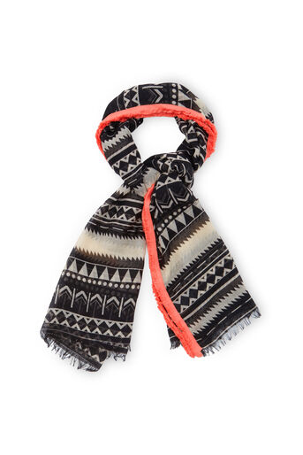 Oasis, Deco Fringed Scarf Multi 0