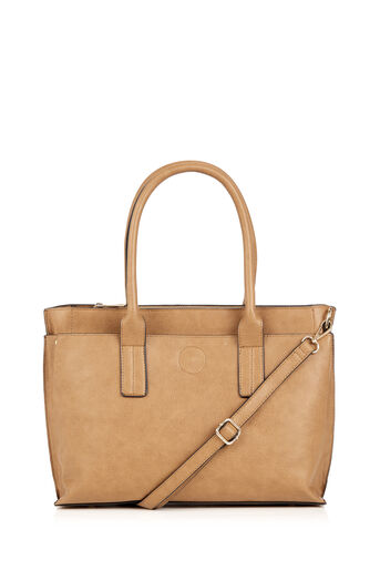 Oasis, THE POPPING OUT TOTE Tan 0
