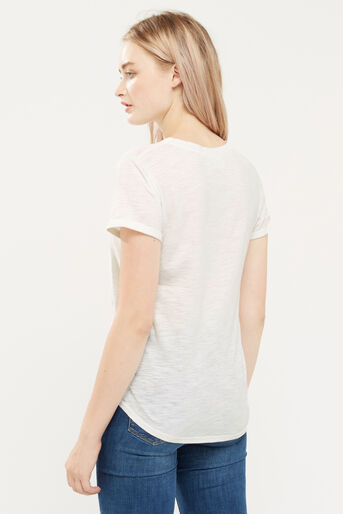Oasis, EMBROIDERED TEE Pale Pink 3