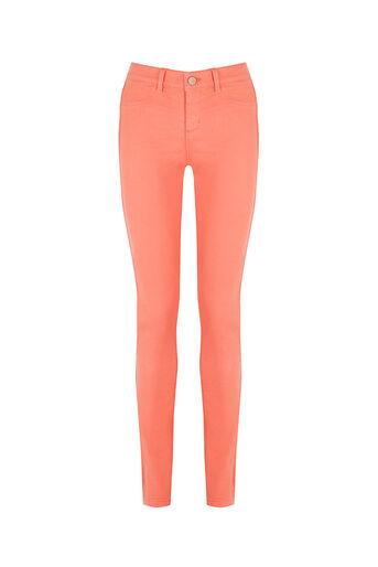 Oasis, Jade Skinny Jeans Coral 0