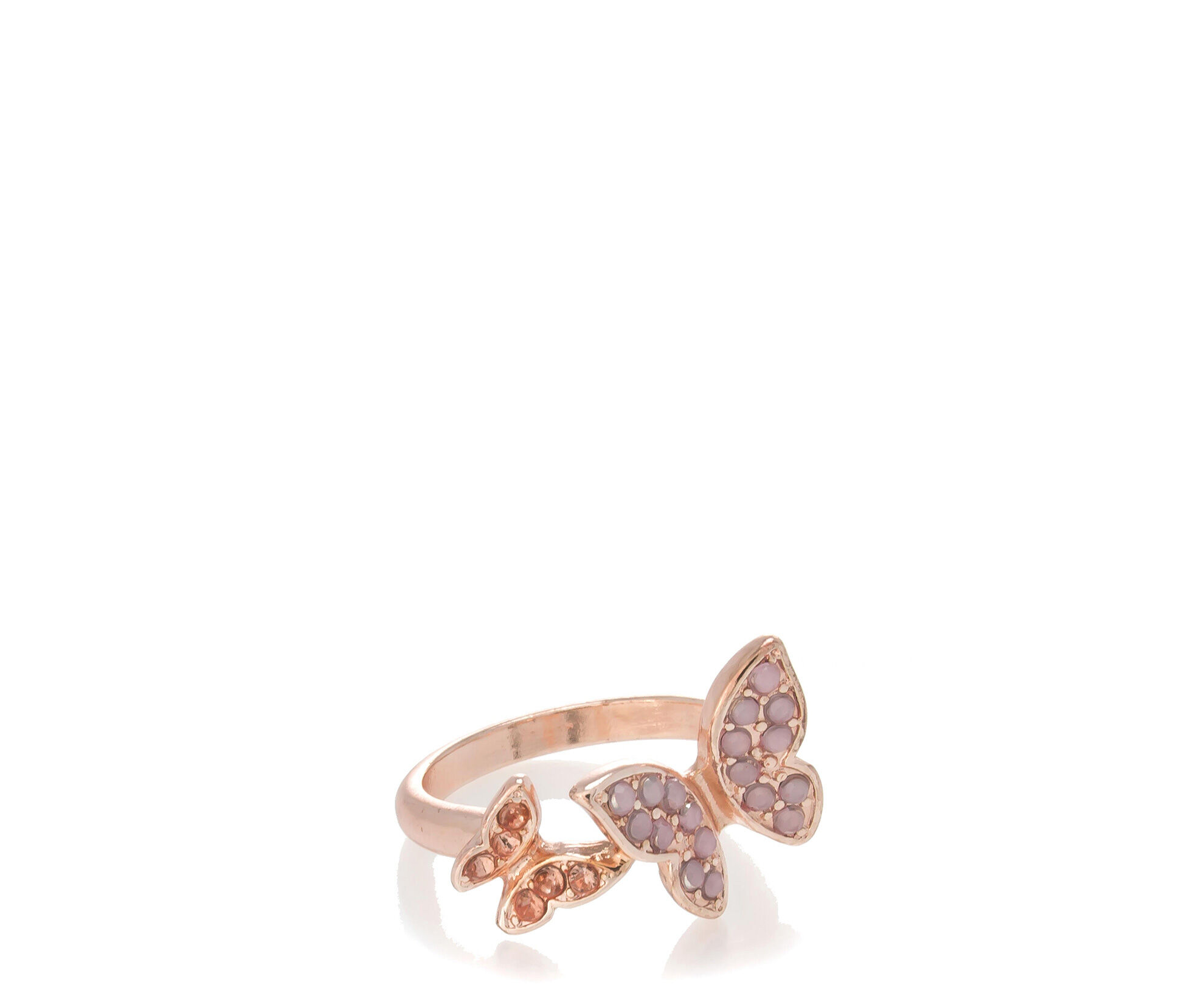 Oasis, BUTTERFLY RING S/M Gold 0