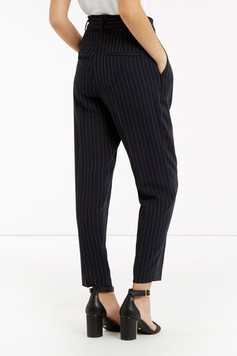 Oasis, Stripe Peg Trouser Multi Blue 3