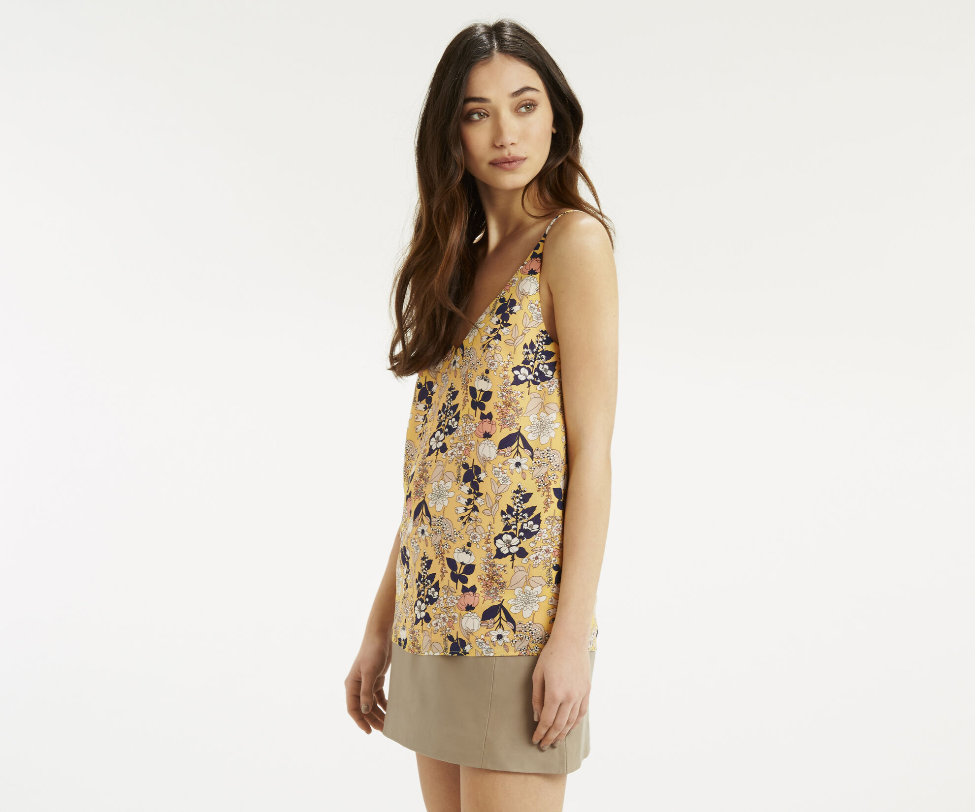 Oasis, Edie Floral Cami Multi Yellow 1