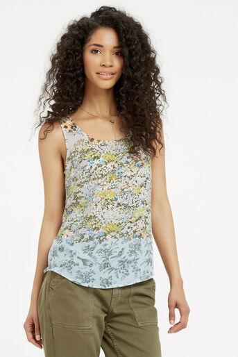 Oasis, Ombre Ditsy Vest Multi 1