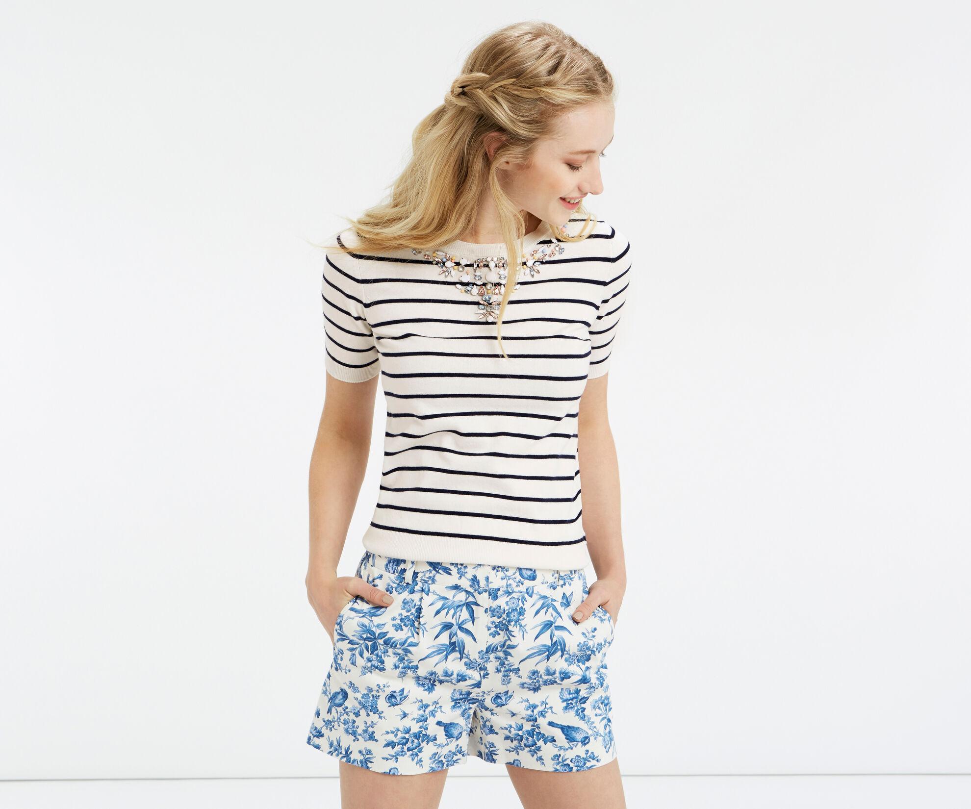 Oasis, Embellished stripe knit Multi 1
