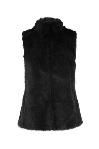 Oasis, FAUX FUR GILET Black 0
