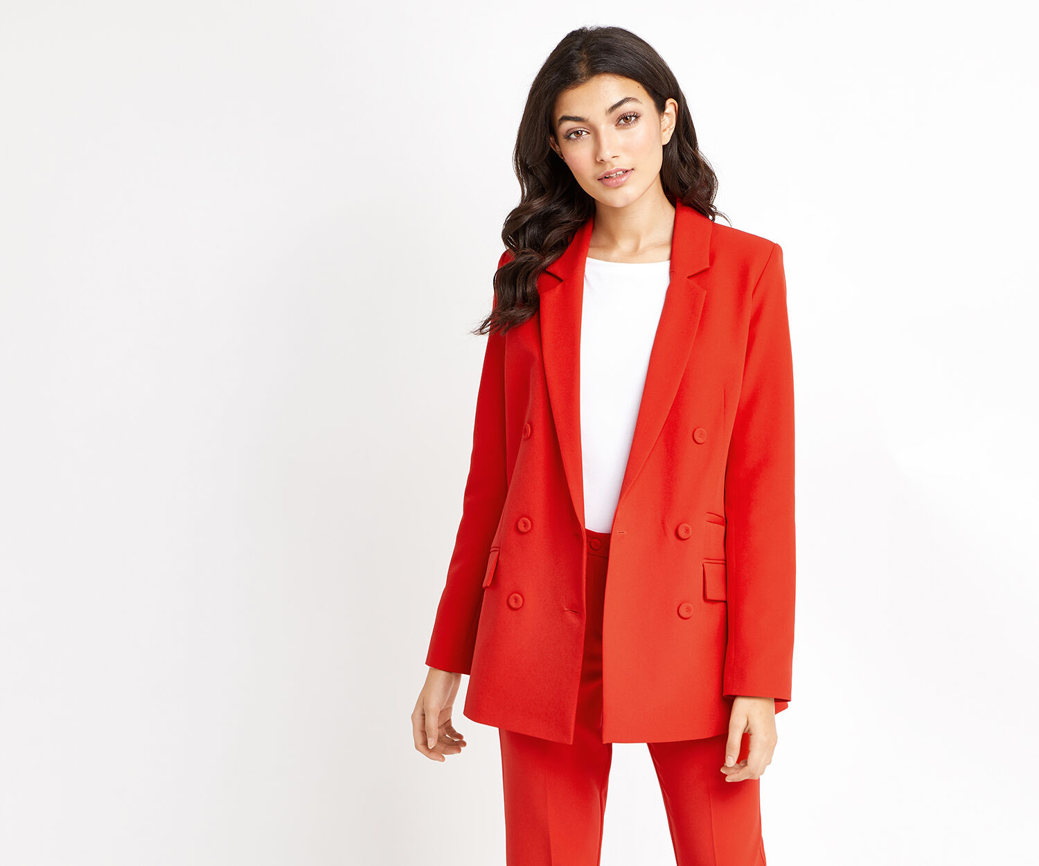 Oasis, ULTIMATE RED SUIT JACKET Rich Red 1