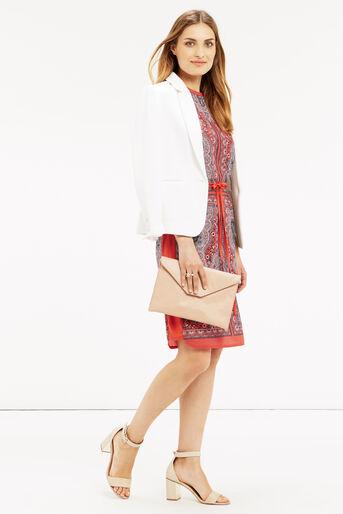 Oasis, PAISLEY PRINT DRESS Coral 2