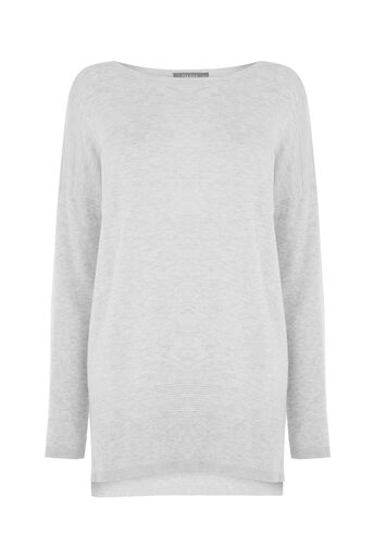 Oasis, Atlantic sweater Mid Grey 0