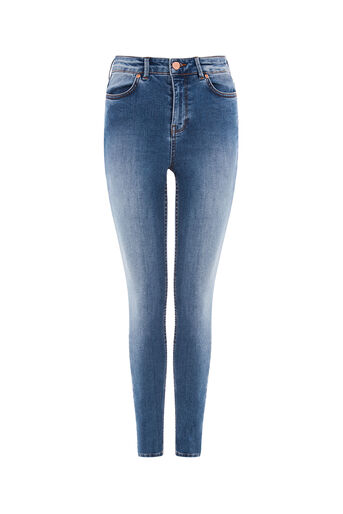 Oasis, STILETTO SKINNY JEANS Light Wash 0
