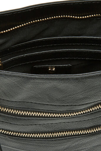 Oasis, ALICE ZIP BAG Black 4