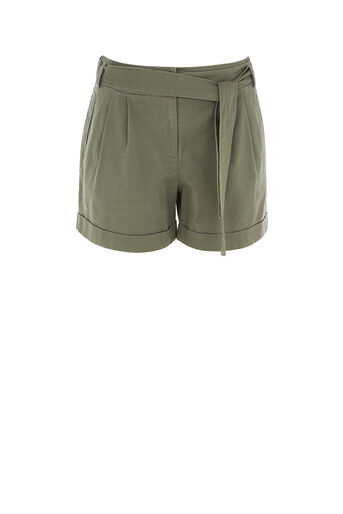 Oasis, CASUAL SHORT Khaki 0