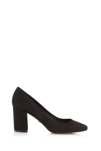 Oasis, CHARLOTTE COURT SHOE Black 0