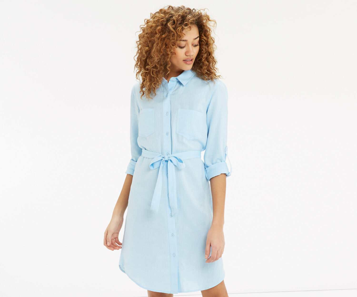 soft cotton shirt dress oasis