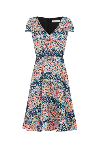Oasis, DITSY DRESS - LONGER LENGTH Multi 0