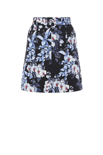 Oasis, TROPICAL ORCHID MINI SKIRT Multi 0
