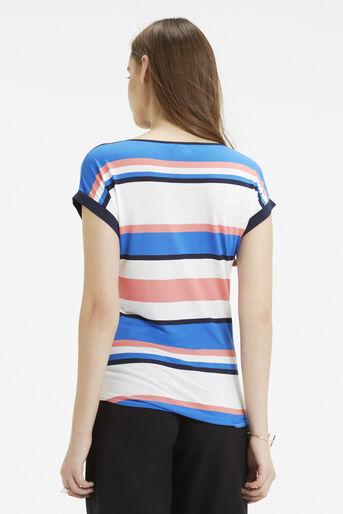 Oasis, Il De Ray Stripe T-Shirt Multi 3