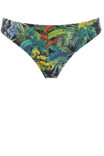 Oasis, Tropical Penang Bikini Bottom Black 0