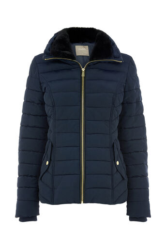 Oasis, NATALIE PADDED JACKET Navy 0