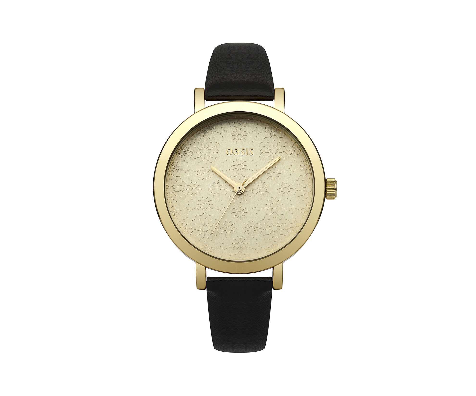 Oasis, Etched Pattern Watch Black 0