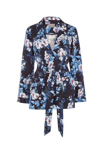 Oasis, TROPICAL ORCHID SOFT BLAZER Multi 0