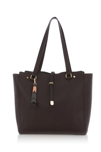 Oasis, KIRA SHOPPER Mid Grey 0