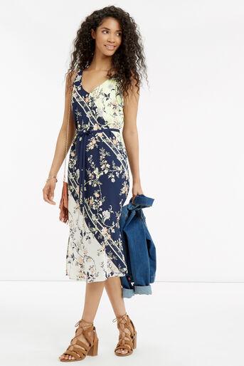 Oasis, SASHIKO PRINT DRESS Multi 2