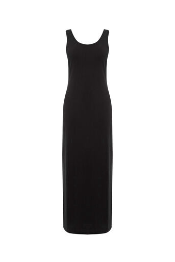 Oasis, SOFT TOUCH MAXI DRESS Mid Grey 0