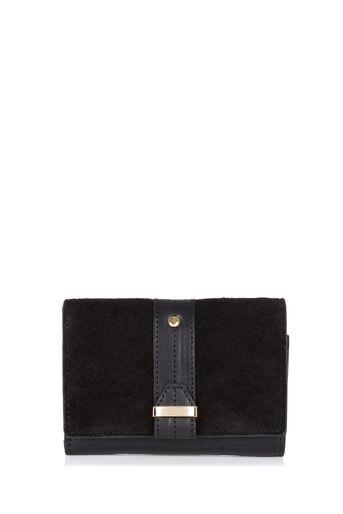 Oasis, MINI LEATHER DEX PURSE Black 0