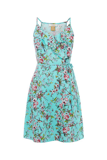 Oasis, ROYAL WORCESTER SUNDRESS Multi Green 0