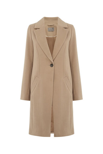 Oasis, KIMBERLY CAR COAT Mid Neutral 0