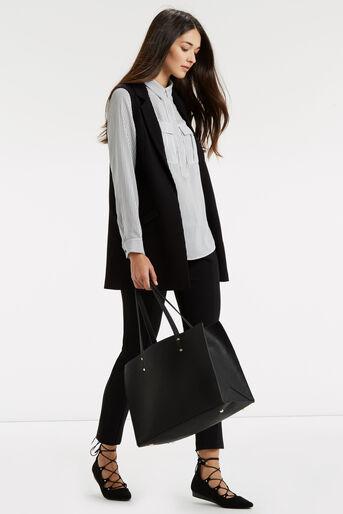 Oasis, Sleeveless Jacket Black 2