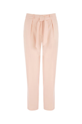 Oasis, TAPERED LEG TROUSER Pale Pink 0