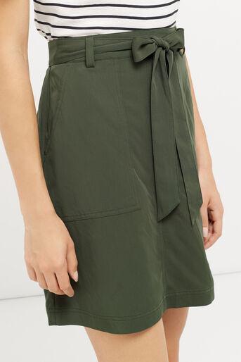 Oasis, Patch pocket utility skirt Khaki 4