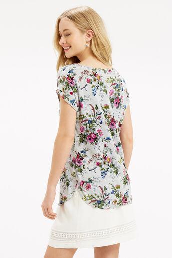 Oasis, Rosanna T-Shirt Mid Grey 3