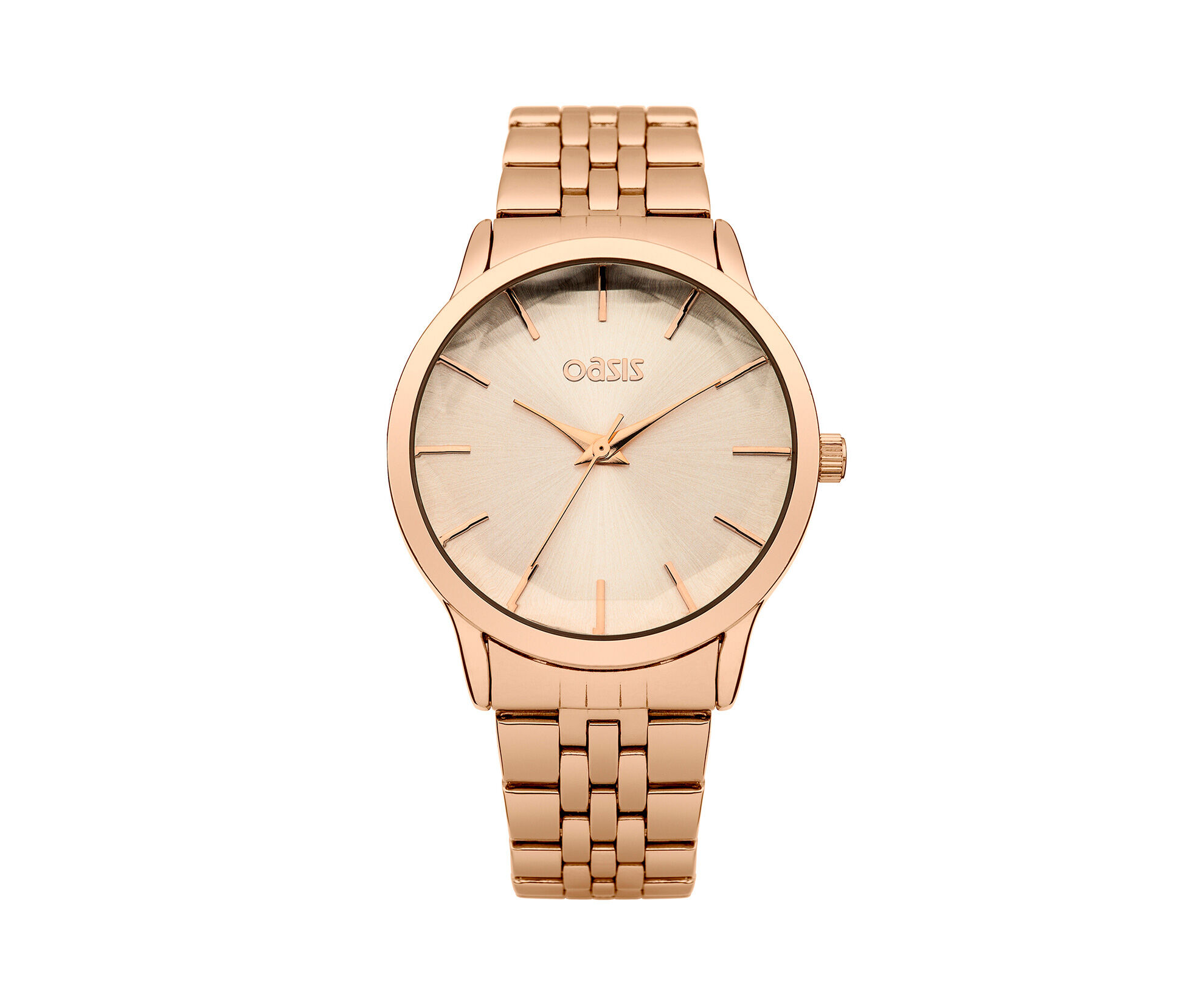 Oasis, Rose Gold Bracelet Watch Antique Gold 0