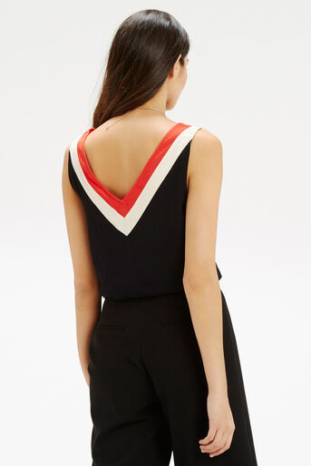 Oasis, Colour Block Vest Multi 3
