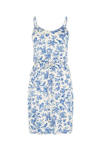 Oasis, Rosie Bird Cami Dress Off White 0